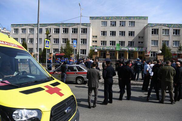 Russia, la situzione dopo la sparatoria in una scuola a Kazan - Sputnik Italia