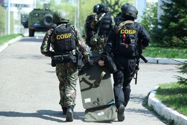 Uno degli assalitori è stato arrestato, l'altro sarebbe rimasto ucciso nel corso dell'operazione della polizia - Sputnik Italia