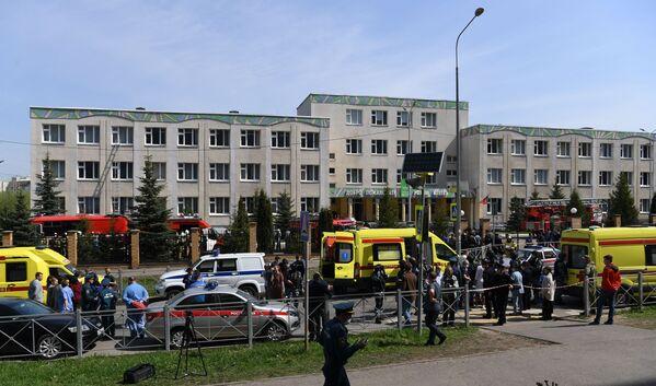 Le sparatorie nelle scuole sono rare in Russia. Uno degli ultimi episodi risale al 2018, quando uno studente in Crimea uccise 19 persone, prima di puntare l'arma contro di sé. - Sputnik Italia