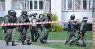 Sul luogo è in corso un'operzione della polizia, che ha ucciso uno dei due assalitori