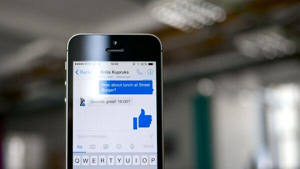 Facebook Messenger - Sputnik Italia