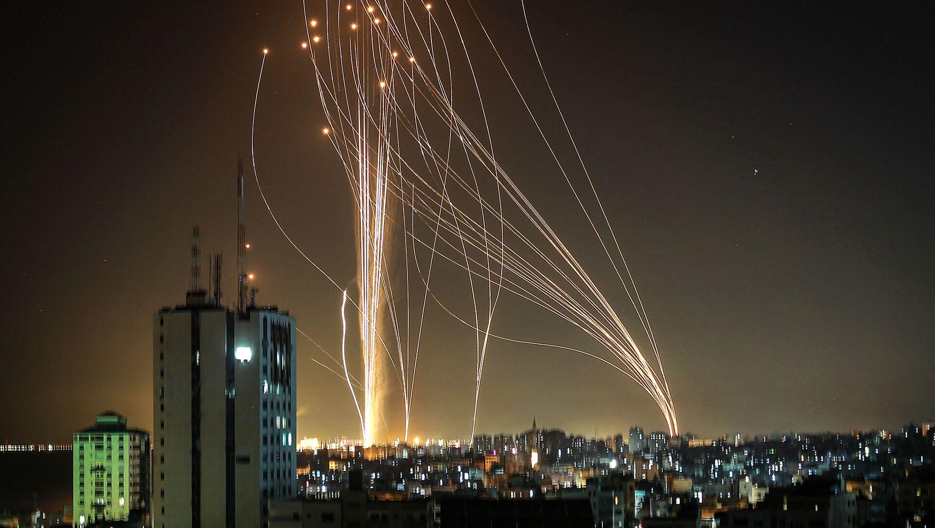 Missili nel cielo di Tel Aviv, 11 maggio 2021 - Sputnik Italia, 1920, 11.05.2021