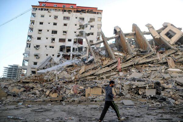 Il leader supremo iraniano, l'Ayatollah Ali Khamenei, ha invitato i palestinesi a restare uniti in questo momento di grande tensione tra Israele e il movimento palestinese Hamas. - Sputnik Italia