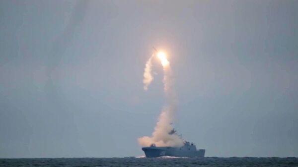 Un test del missile Zirkon - Sputnik Italia