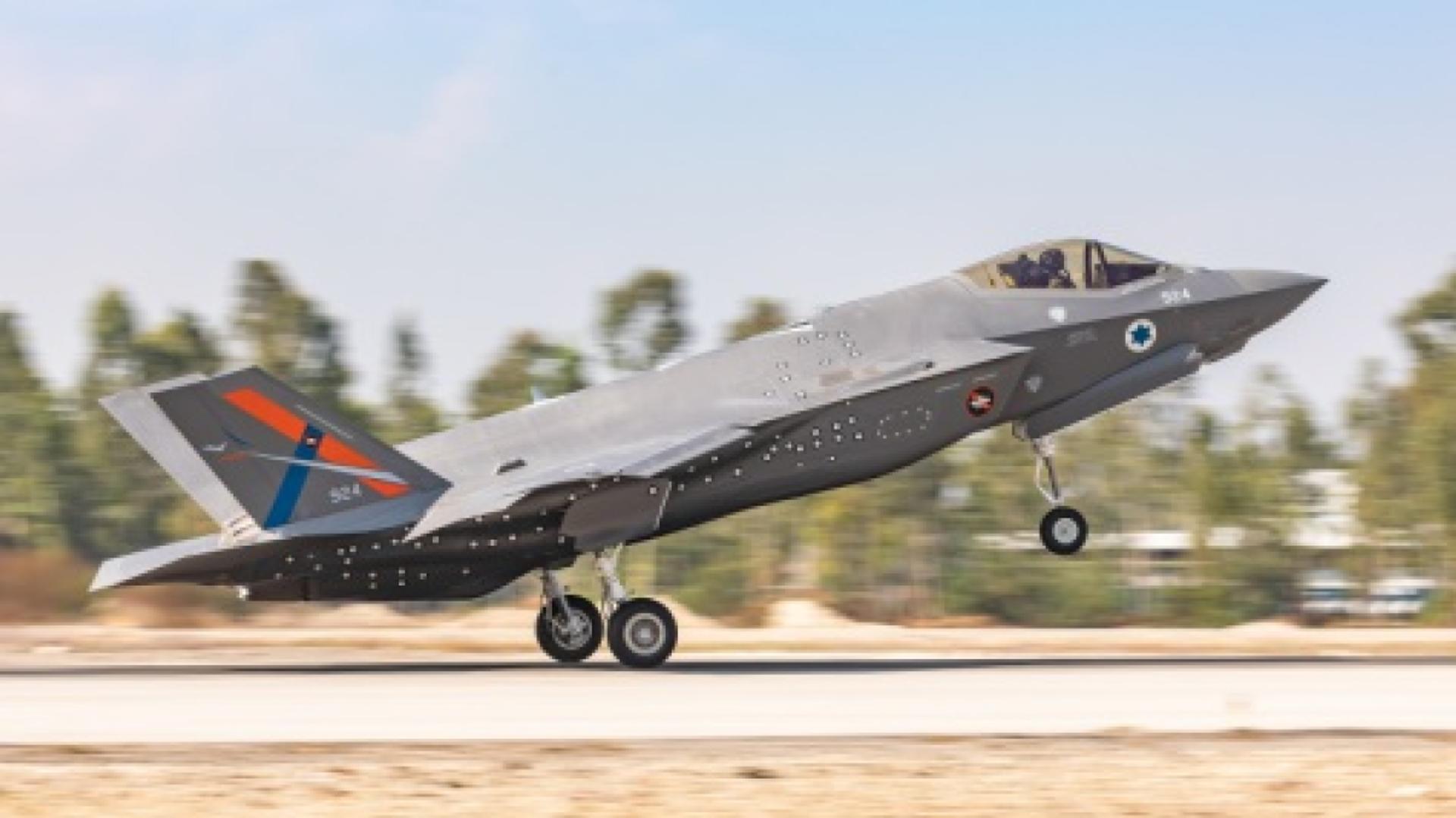 Il primo velivolo di prova F-35I Adir al di fuori degli Stati Uniti presso il Centro israeliano di prove di volo AF a Tel-Nof AFB l'11 novembre 2020. Verrà utilizzato per sviluppare e testare capacità avanzate che solo Israele può aggiungere la sua flotta di caccia F-35I. - Sputnik Italia, 1920, 18.05.2021