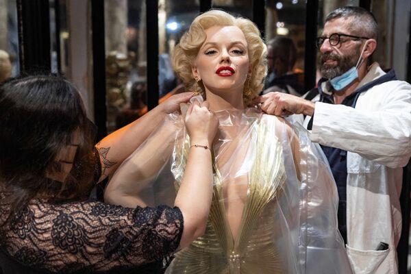 La statua di cera di Marilyn Monroe, Parigi - Sputnik Italia