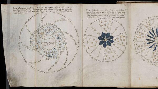 Pagina 68 dal misterioso manoscritto di Voynich - Sputnik Italia