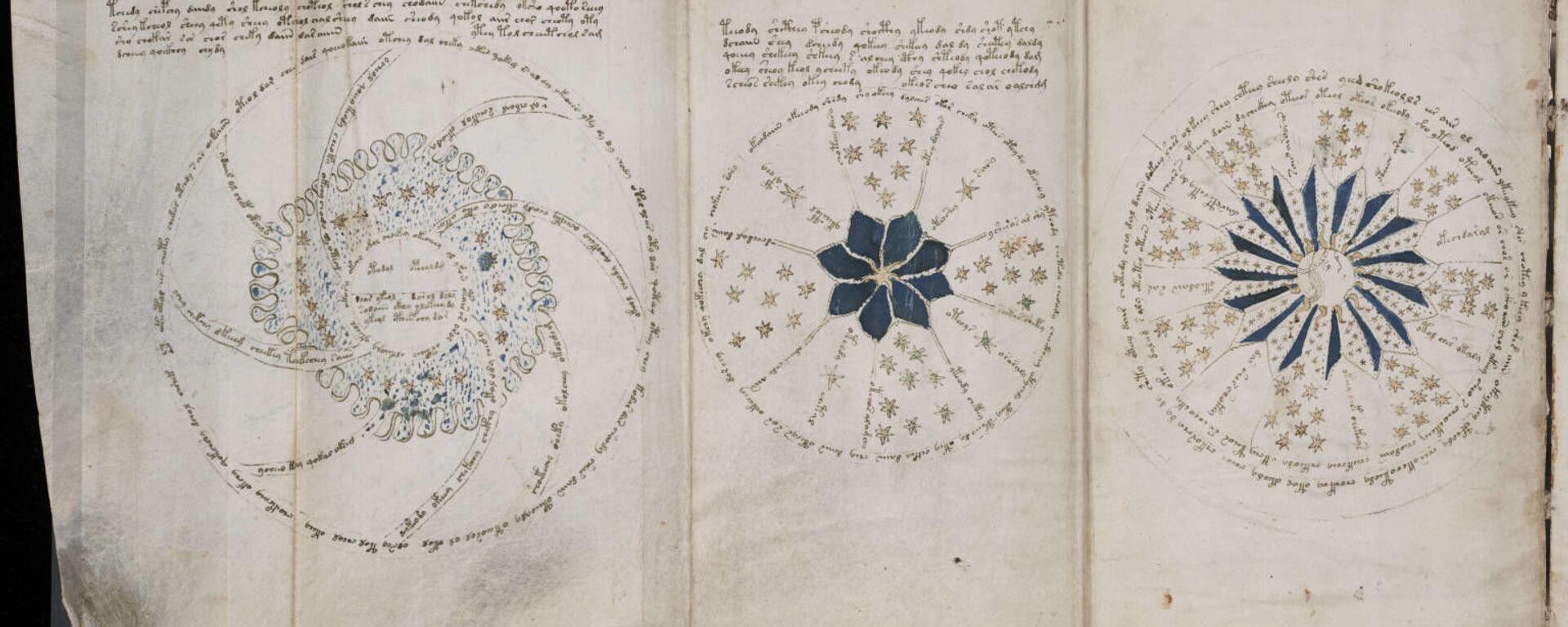 Pagina 68 dal misterioso manoscritto di Voynich - Sputnik Italia, 1920, 15.05.2021