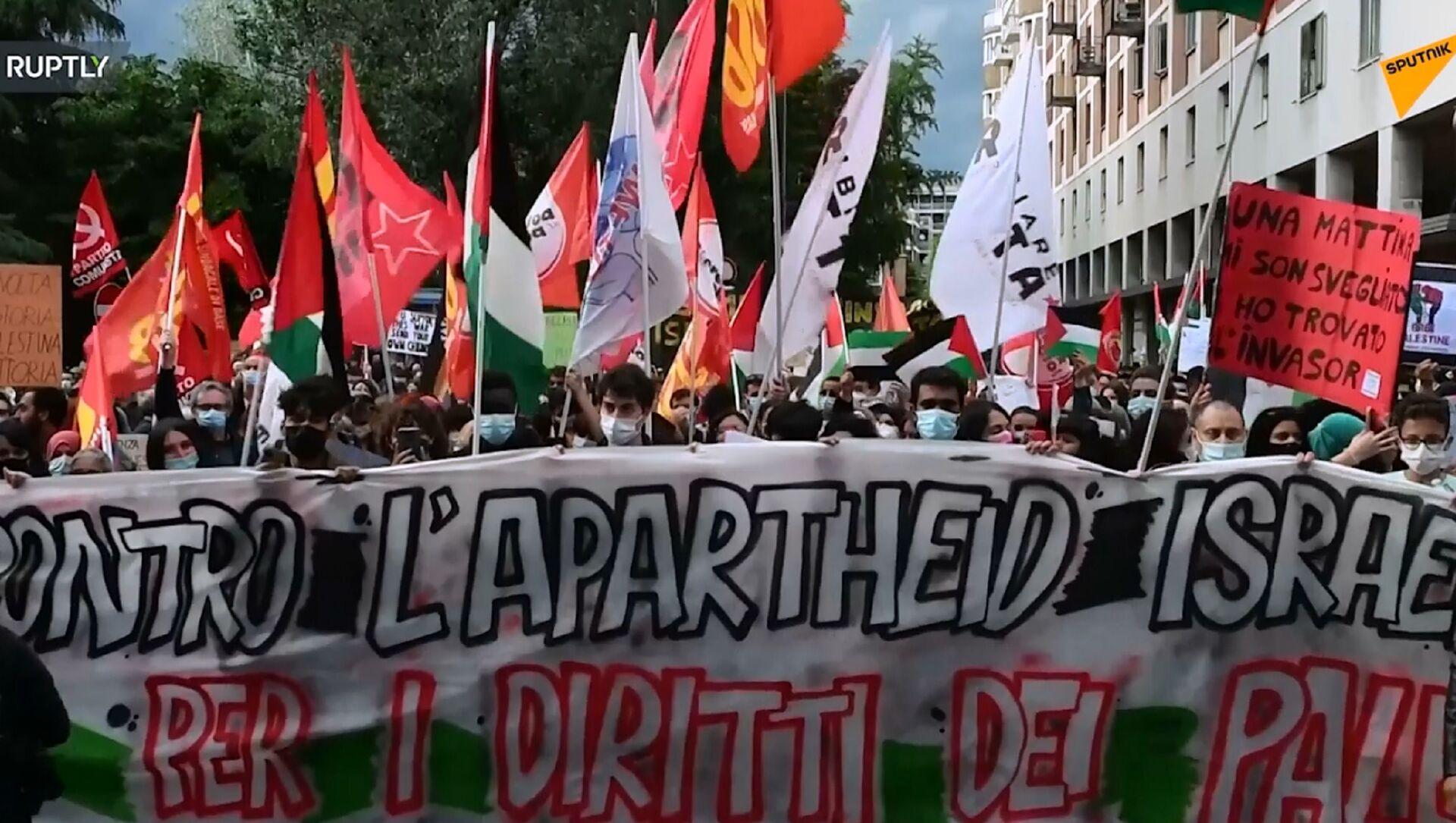 Manifestazione a Bologna - Sputnik Italia, 1920, 16.05.2021