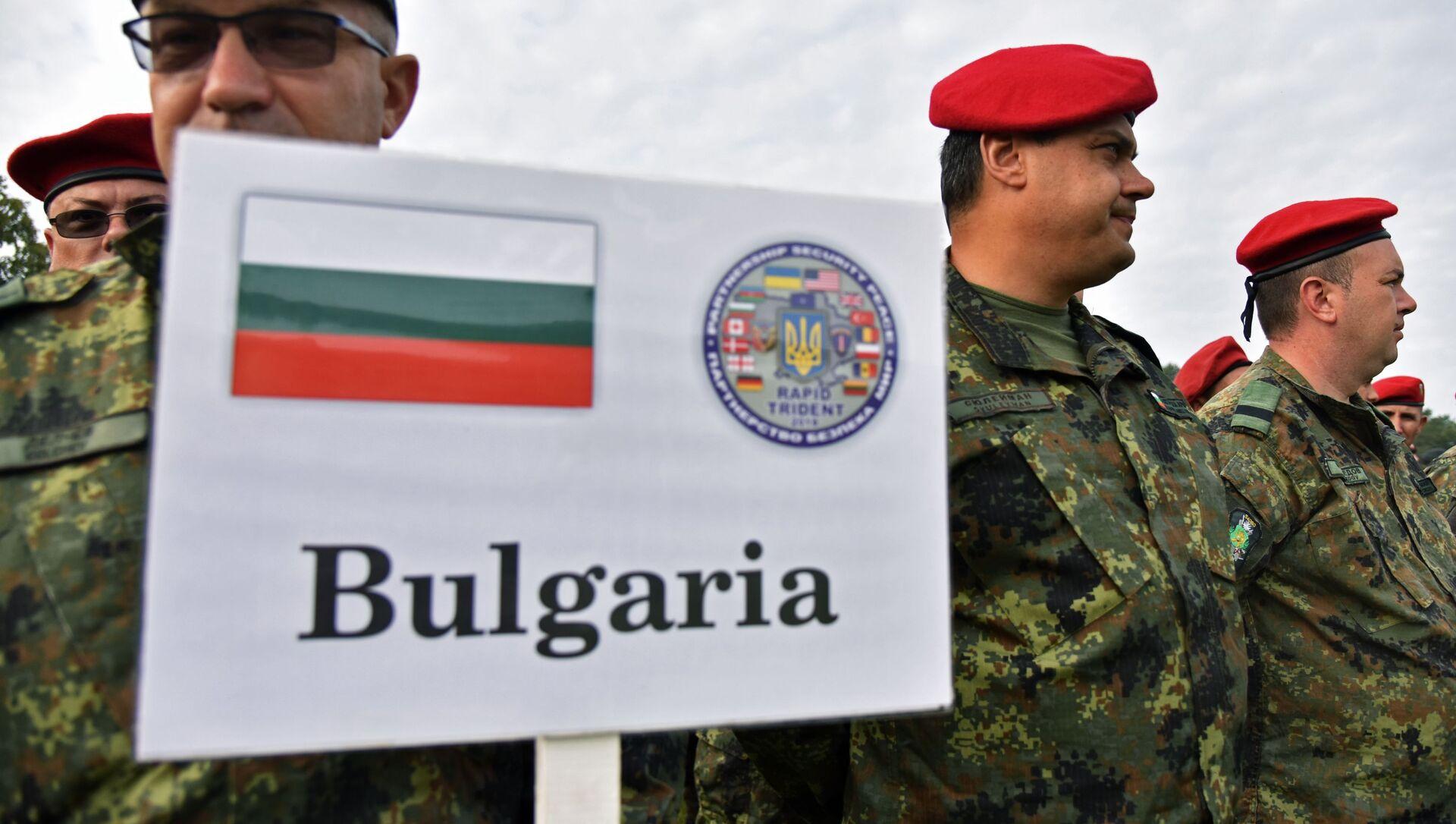 Soldati bulgari alle esercitaizoni Rapid Trident del 2018 - Sputnik Italia, 1920, 18.05.2021