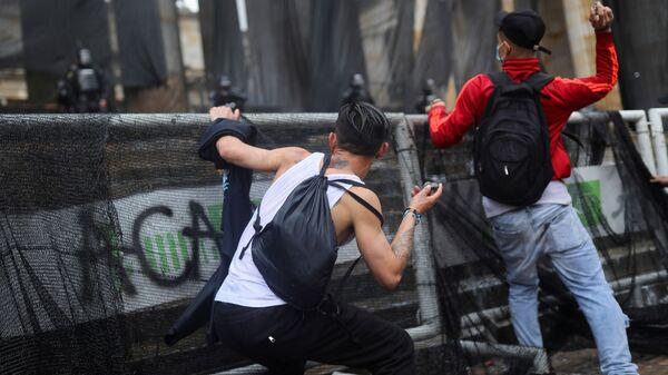 Proteste in Colombia - Sputnik Italia