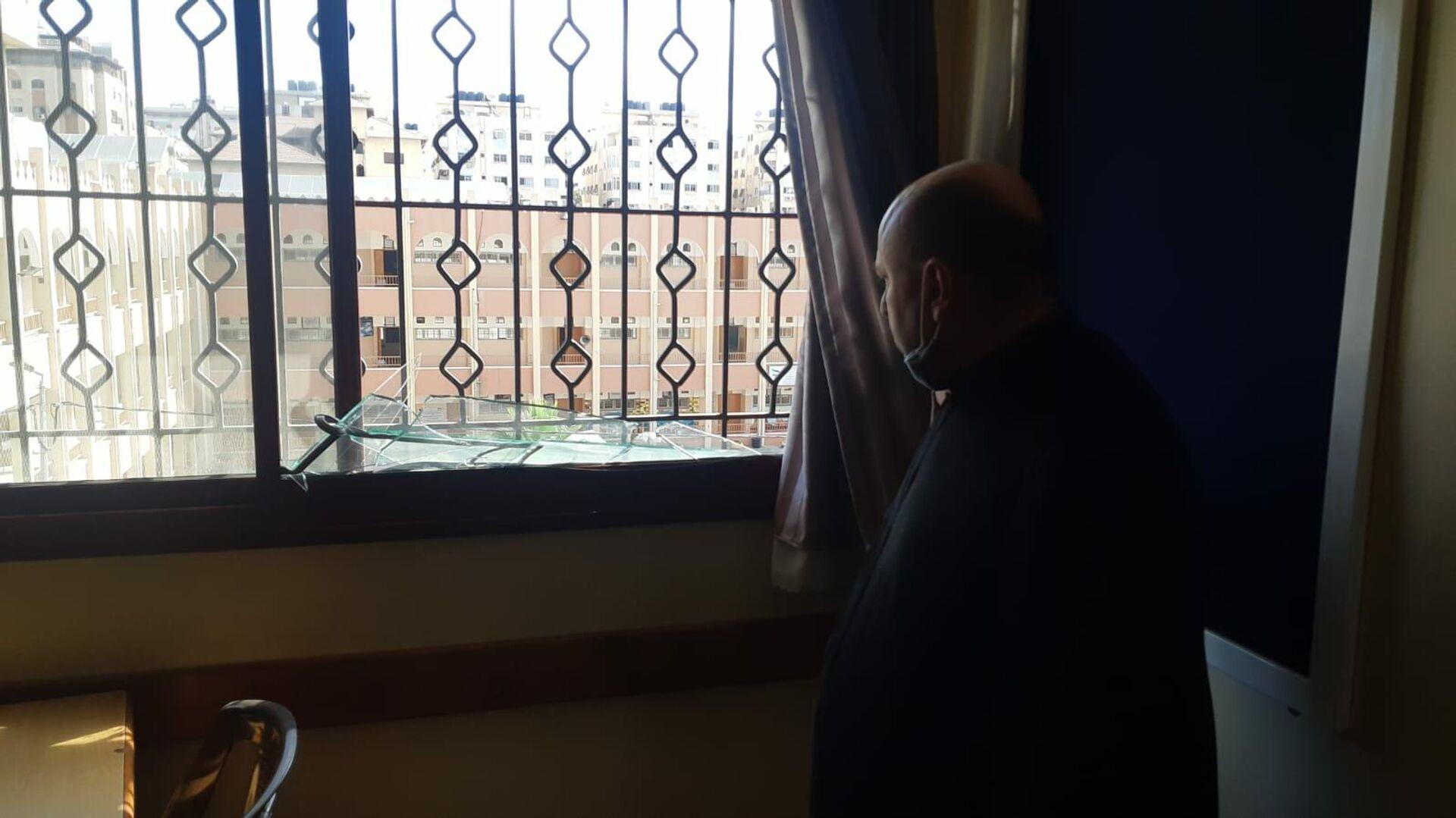 Padre Gabriel Romanelli, parroco della chiesa della Sacra Famiglia a Gaza - Sputnik Italia, 1920, 19.05.2021