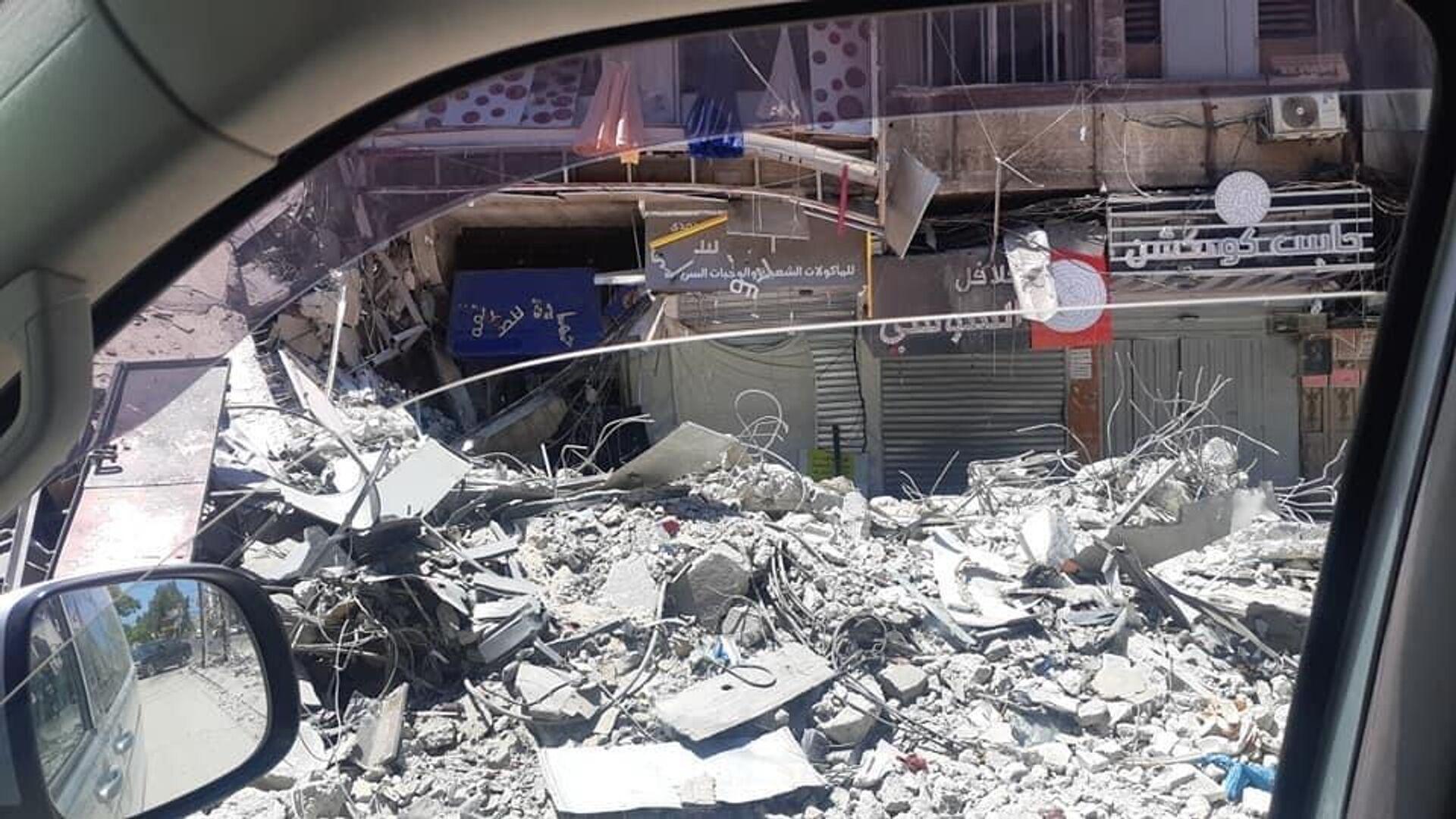 Una situazione drammatica a Gaza dopo una nuova escalation di violenza tra israeliani e palestinesi - Sputnik Italia, 1920, 19.05.2021