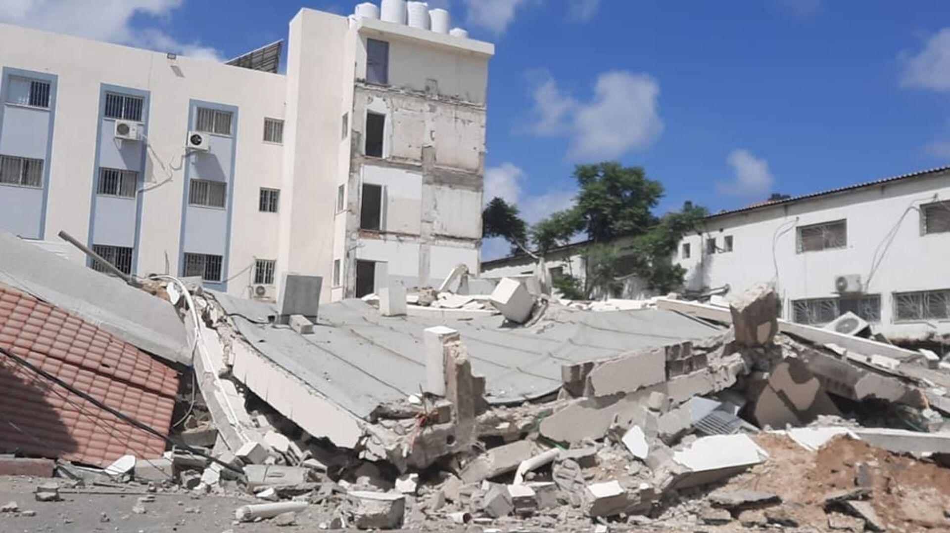 Una situazione drammatica a Gaza dopo una nuova escalation di violenza tra israeliani e palestinesi - Sputnik Italia, 1920, 20.05.2021