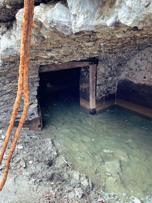 Quando il lago fu temporaneamente prosciugato, la gente del posto fu in grado di vedere i resti di Сuron. - Sputnik Italia
