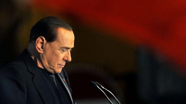 Бывший премьер-министр Италии Сильвио Берлускони, 2013 год - Sputnik Italia