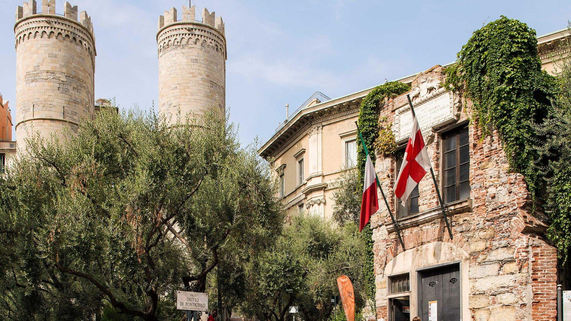 La casa di Cristoforo Colombo a Genova - Sputnik Italia, 1920, 19.05.2021