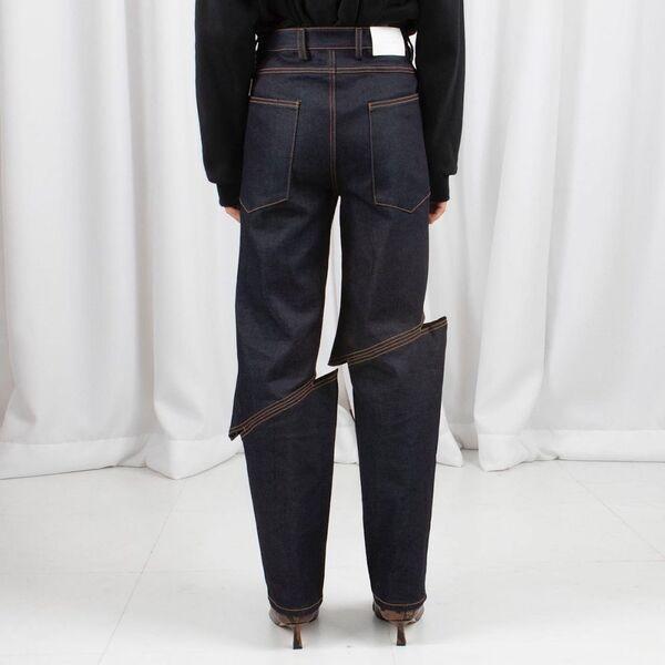 L'illusione ottica dei jeans di LEJE Slash. - Sputnik Italia
