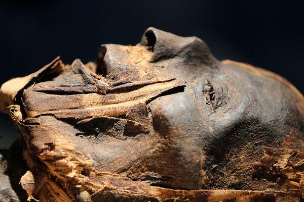 22 mummie reali – 18 re e 4 regine – sono partite dal Museo egiziano del Cairo, in piazza Tahrir, per arrivare fino alla loro futura destinazione, il nuovo Museo nazionale della Civiltà egiziana, con una parata multimilionaria trasmessa in diretta mondiale. - Sputnik Italia