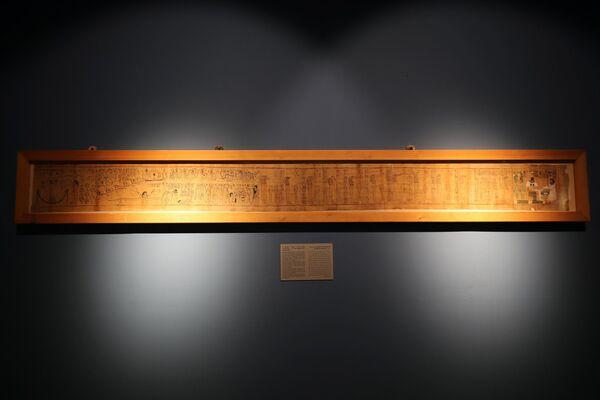 Il museo mostra una vasta collezione che abbraccia quasi tutte le epoche della civiltà egizia. - Sputnik Italia