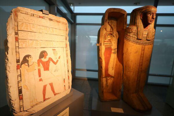 """Il nuovo museo offrirà ai viaggiatori un """"assaggio dei tesori dell'Egitto"""", secondo il Ministero del Turismo e delle Antichità. - Sputnik Italia"""