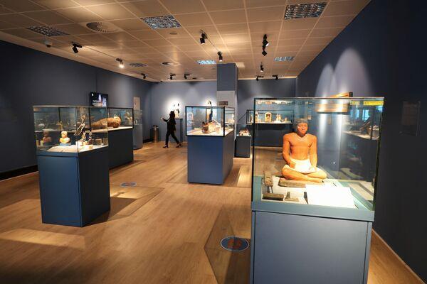 Il museo è stato inaugurato martedì, alla presenza del Ministro dell'aviazione civile egiziano Mohamed Manar. - Sputnik Italia