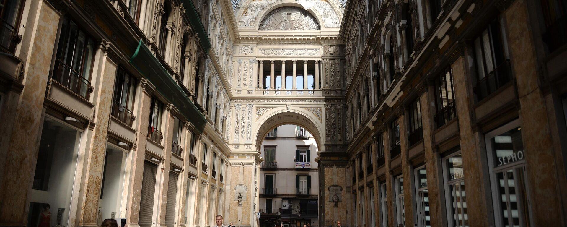 Galleria Umberto, Napoli - Sputnik Italia, 1920, 10.09.2021