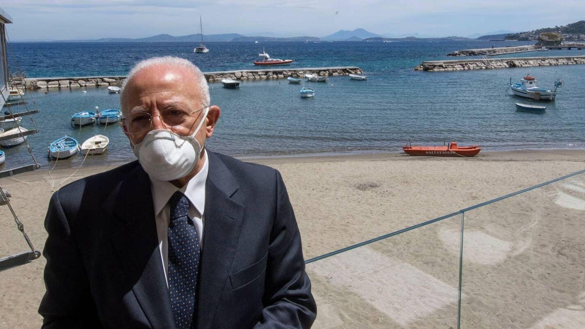 Vincenzo De Luca - Sputnik Italia, 1920, 13.06.2021