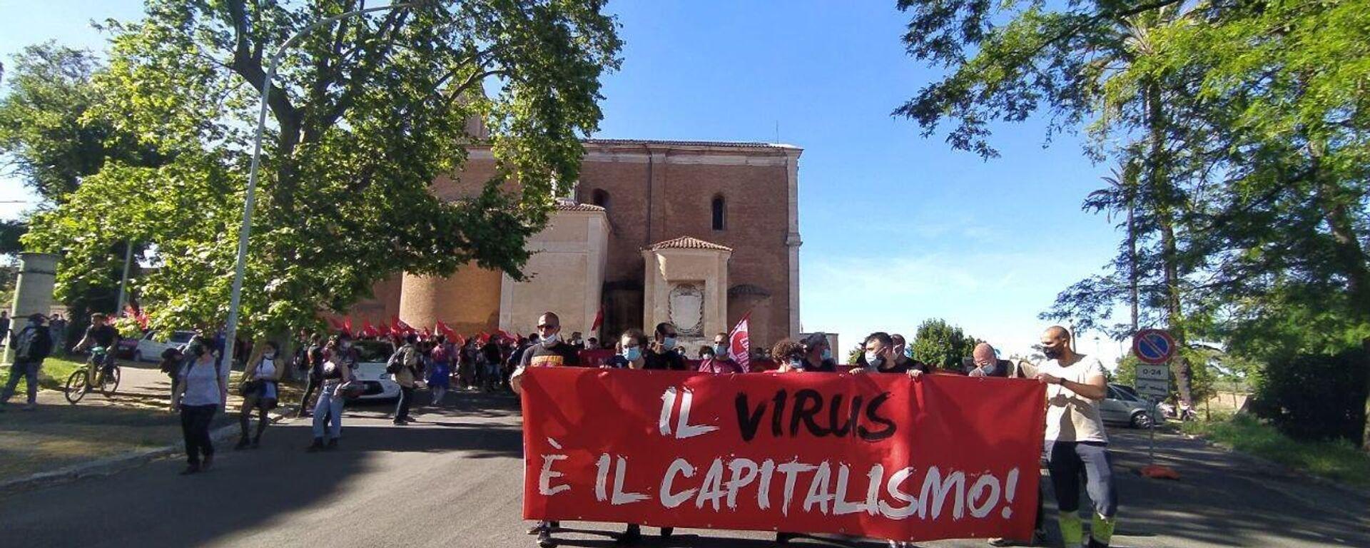 La manifestazione del 21 maggio - Sputnik Italia, 1920, 22.05.2021