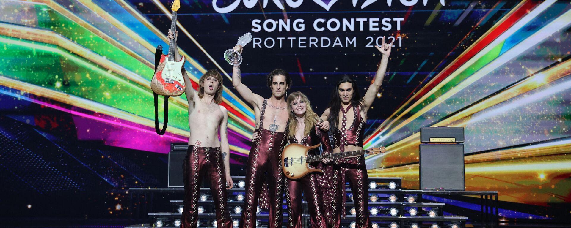 Eurovision 2021: i Maneskin trionfano - Sputnik Italia, 1920, 23.05.2021