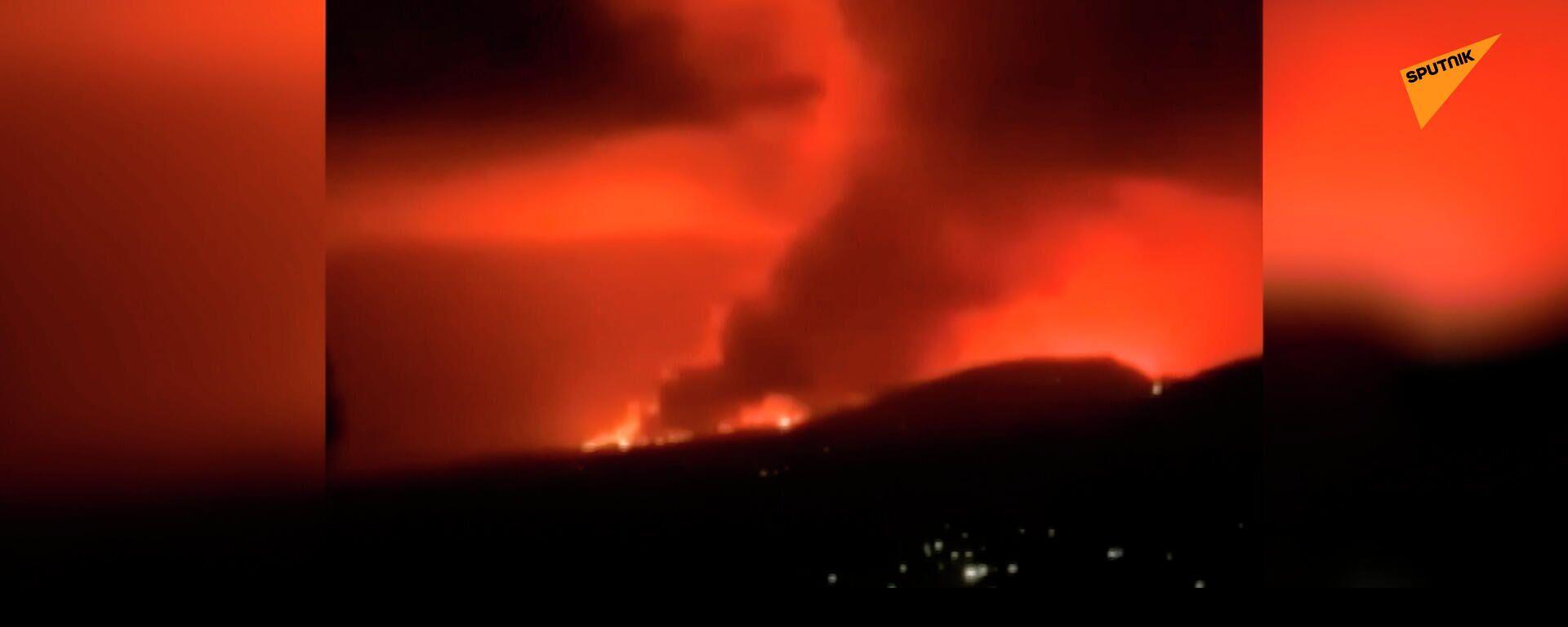 Congo, esplode il vulcano Nyiragongo: oltre 100 persone potrebbero essere morte - Sputnik Italia, 1920, 23.05.2021