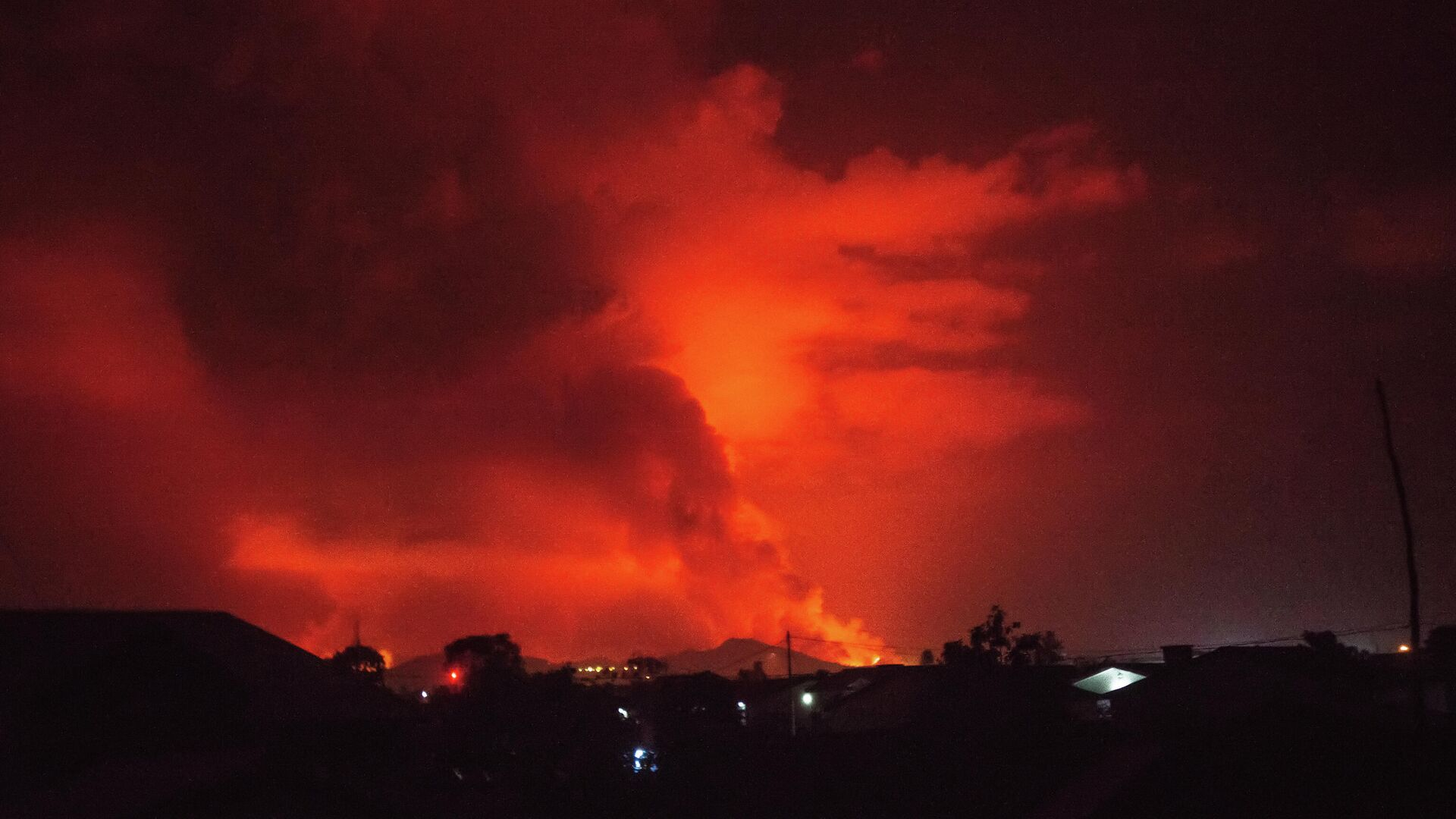 L'eruzione del vulcano Nyiragongo - Sputnik Italia, 1920, 29.05.2021
