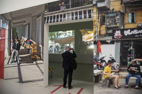La Biennale dedica anche quest'anno il progetto Biennale Sessions alle Università, alle Accademie e agli Istituti di Formazione Superiore. - Sputnik Italia