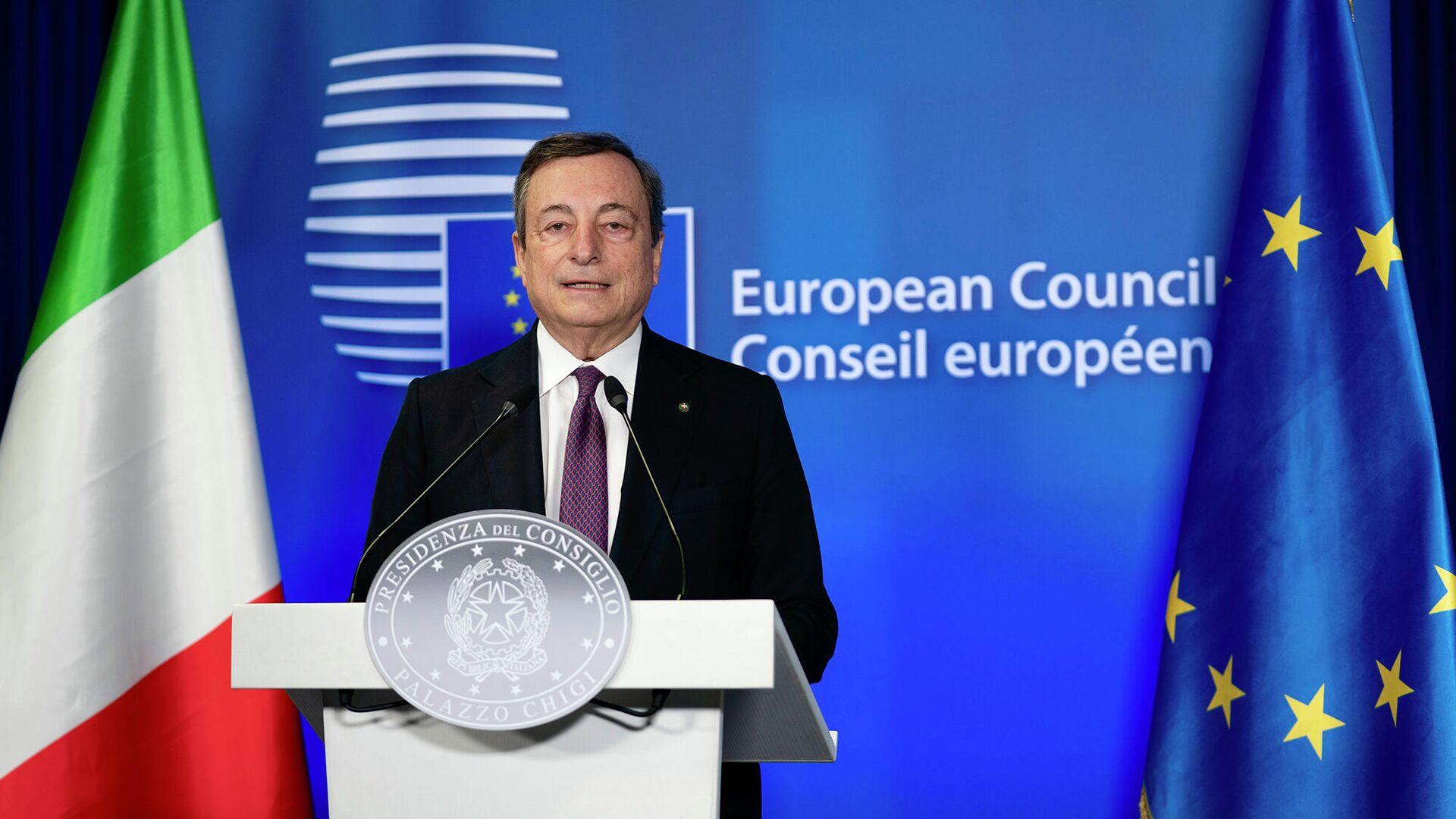 Mario Draghi  - Sputnik Italia, 1920, 22.06.2021