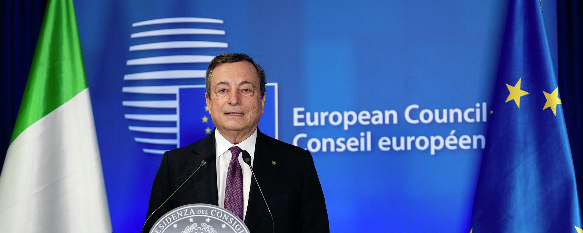 Mario Draghi  - Sputnik Italia, 1920, 25.05.2021