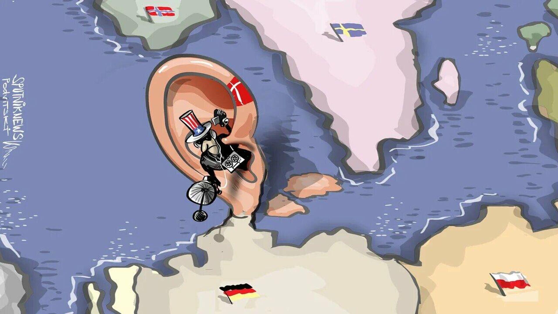 Scandalo di intelligence: Merkel spiata con l'aiuto della Danimarca - Sputnik Italia, 1920, 31.05.2021