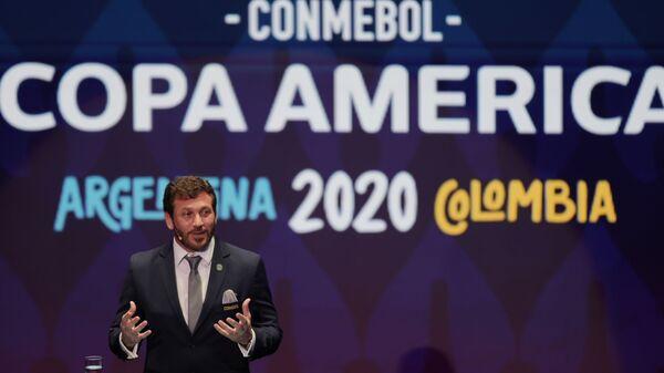 Sorteo de la Copa América 2020 - Sputnik Italia