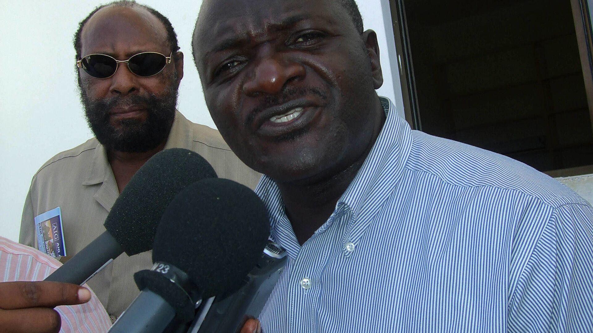 Ministro dei Lavori e dei Trasporti dell'Uganda Katumba Wamala - Sputnik Italia, 1920, 01.06.2021