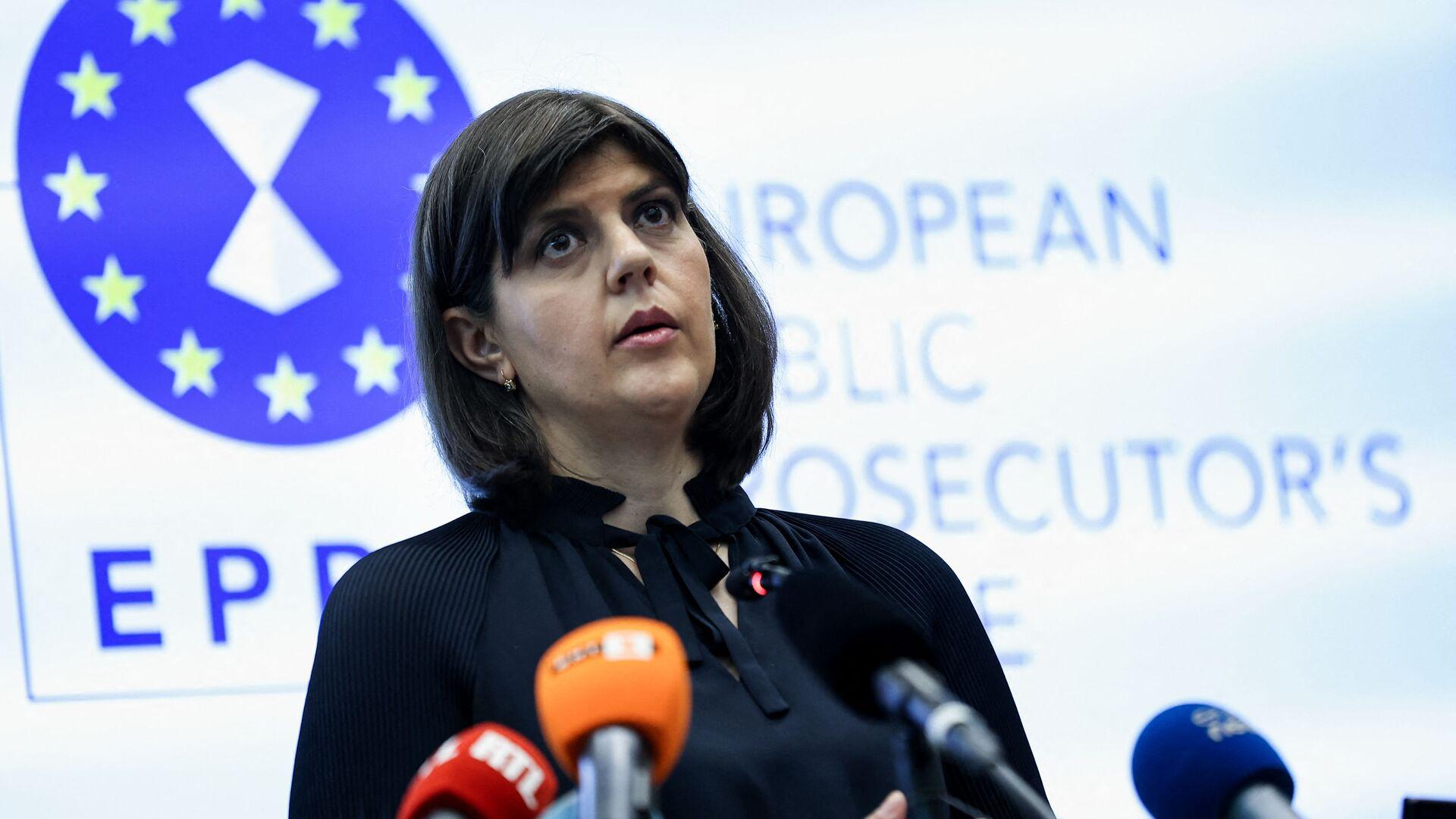 Procuratore capo europeo della Procura europea (EPPO) Laura Codruta Kovesi  - Sputnik Italia, 1920, 01.06.2021
