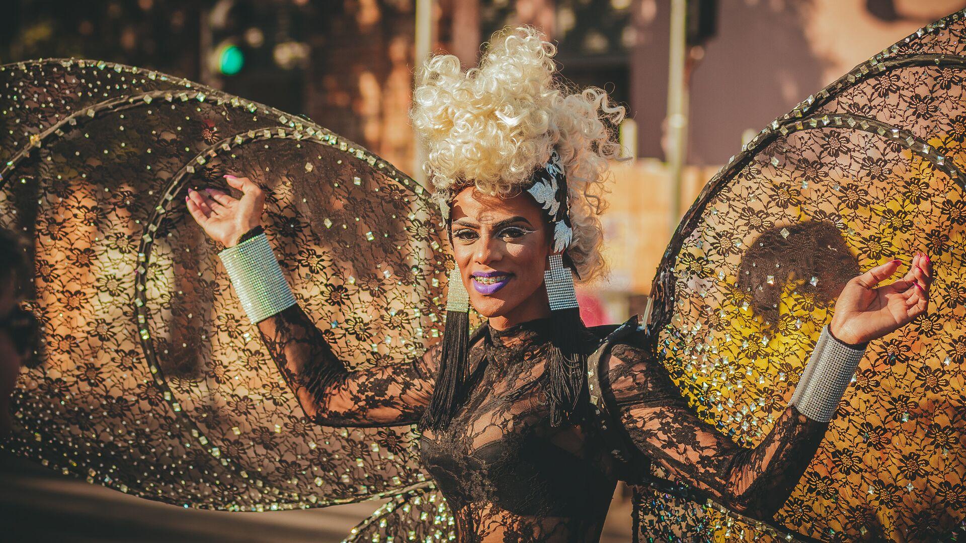 Una drag queen - Sputnik Italia, 1920, 02.06.2021