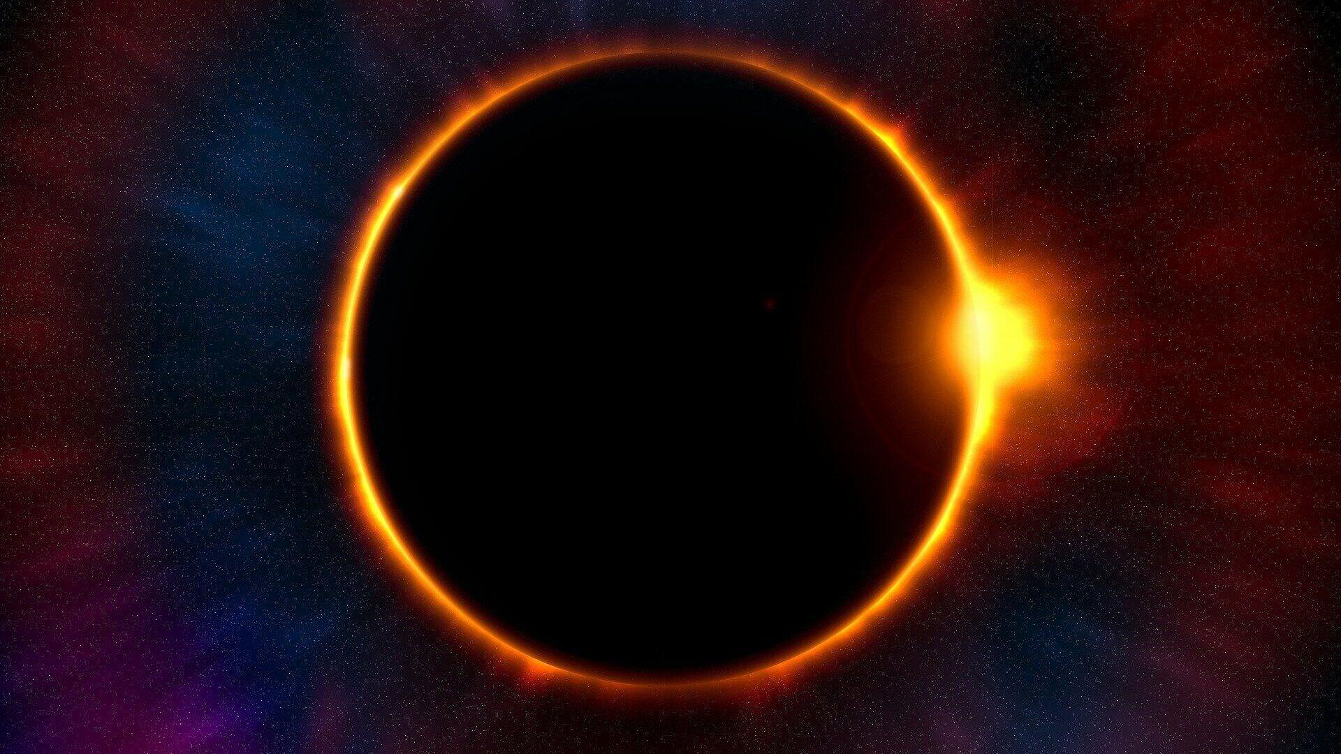 Eclisse solare - Sputnik Italia, 1920, 02.06.2021