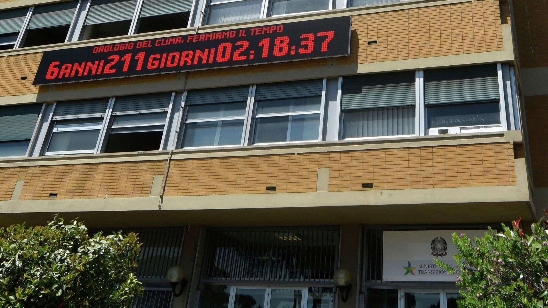 L'orologio del clima - Sputnik Italia, 1920, 04.06.2021