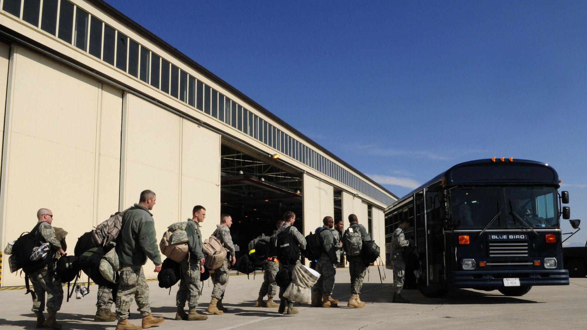 Soldati americani dell'AFRICOM arrivano ad Aviano - Sputnik Italia, 1920, 05.06.2021