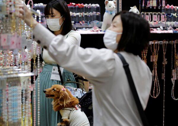 Ed era anche possibile scegliere e acquistare gioielli per animali domestici. - Sputnik Italia