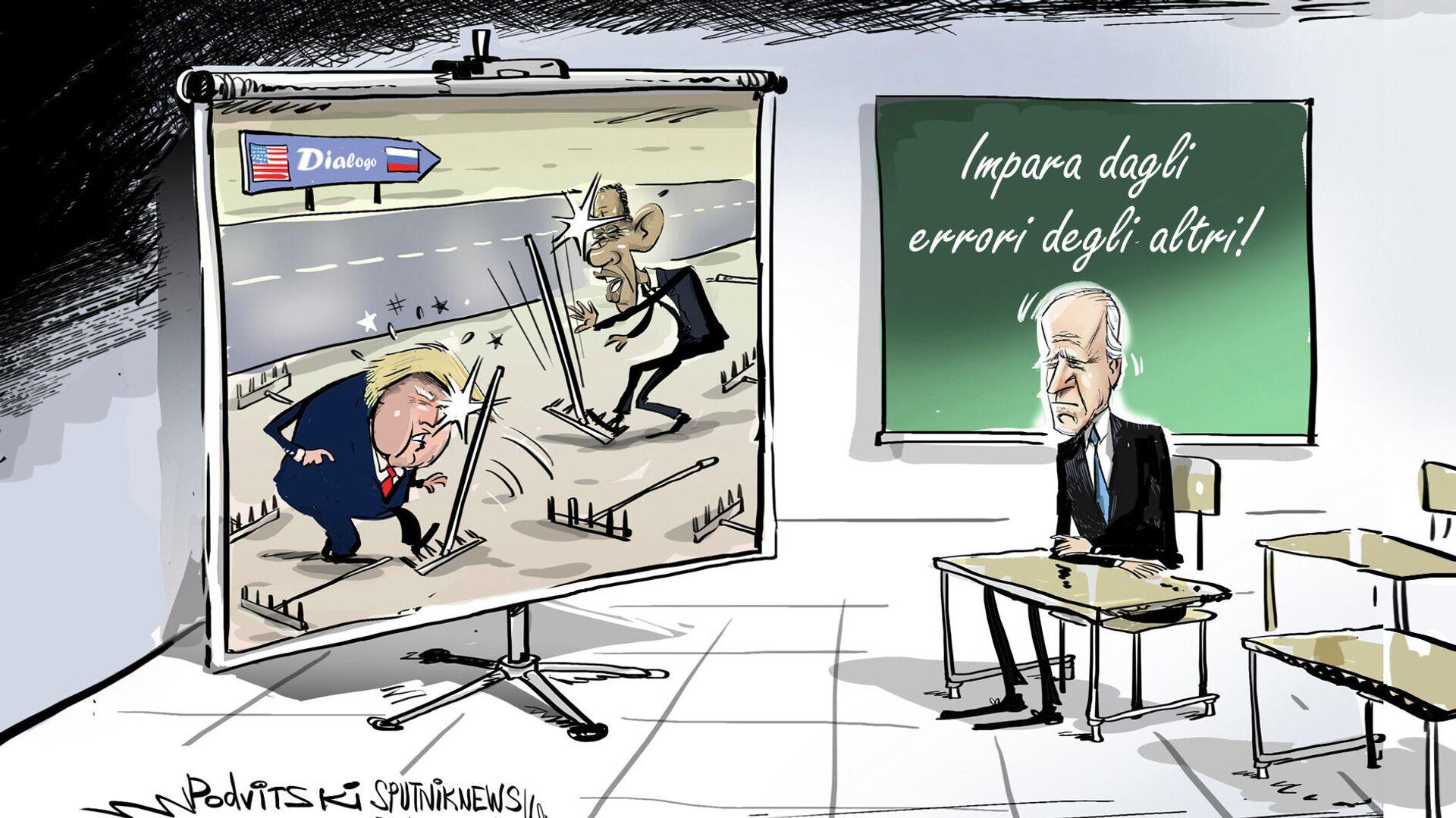 Lavrov chiede agli Usa di lavorare sui propri errori prima dell'incontro tra Putin e Biden - Sputnik Italia, 1920, 09.06.2021