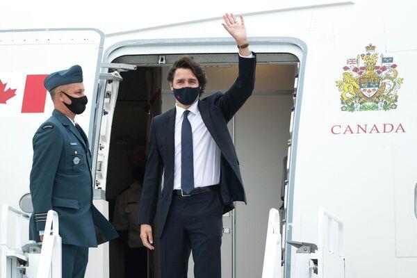 Justin Trudeau, primo ministro del Canada - Sputnik Italia