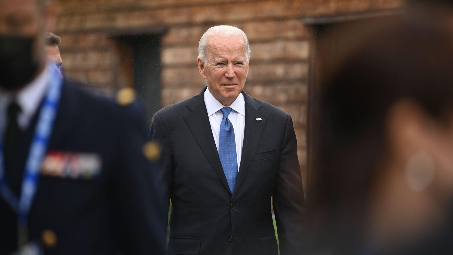 Il presidente americano Joe Biden - Sputnik Italia, 1920, 06.07.2021