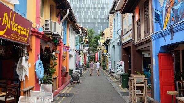 Улица Haji Lane в Сингапуре - Sputnik Italia