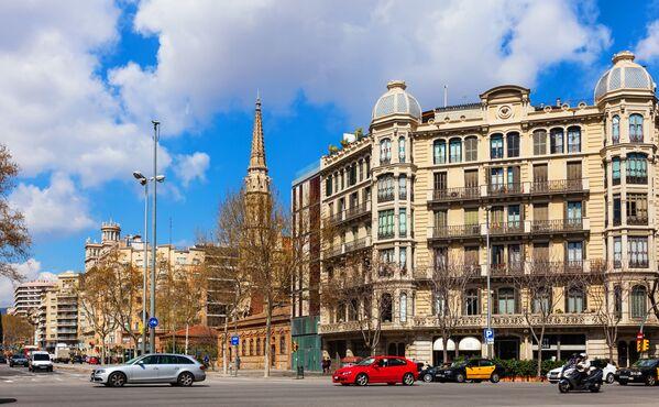 Passeig de Sant Joan a Barcellona, Spagna.  - Sputnik Italia
