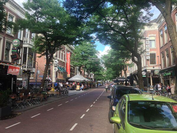 La strada Witte de Withstraat a Rotterdam, Paesi Bassi. - Sputnik Italia
